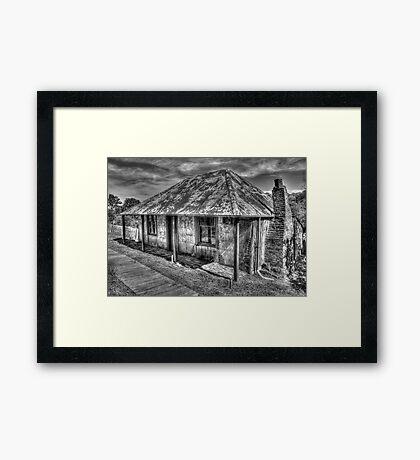 Beyers Cottage- Hill End Framed Print