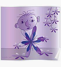 Purple..... Poster