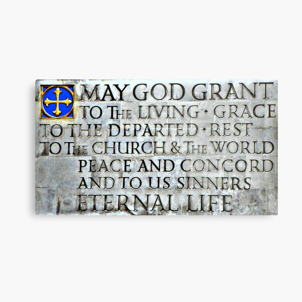 May God Grant To The Living... Metal Print