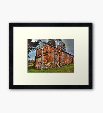 The Back Shed- Hill End Framed Print