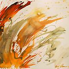 Liquid Fire with Signature by Gary Hoare