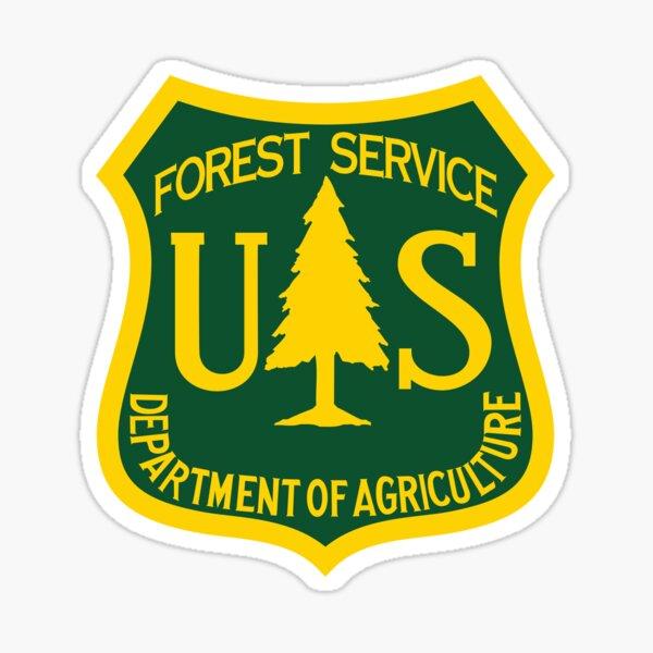 U.S. Forest Service Logo Glossy Sticker
