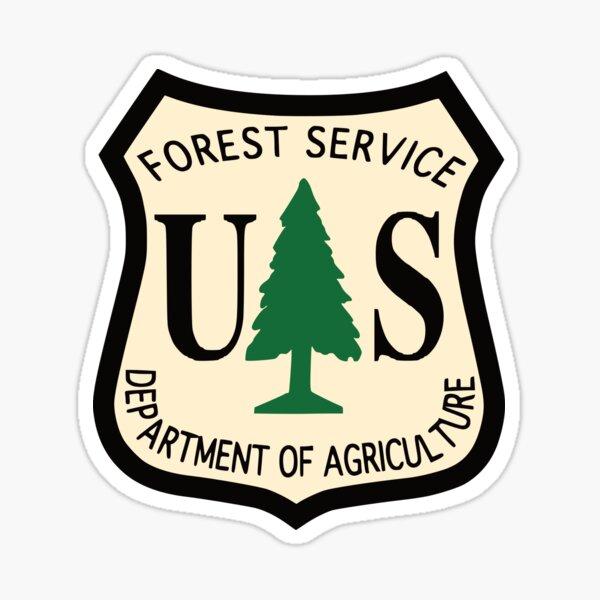 U.S. Forest Service Logo 2 Glossy Sticker