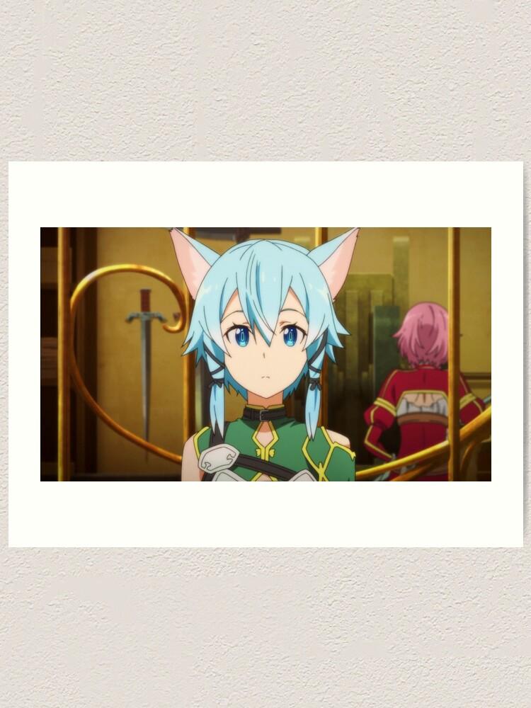 Anime Sword Art Online Sinon Shino Asada Sticker Vinyl Decal Custom SAO