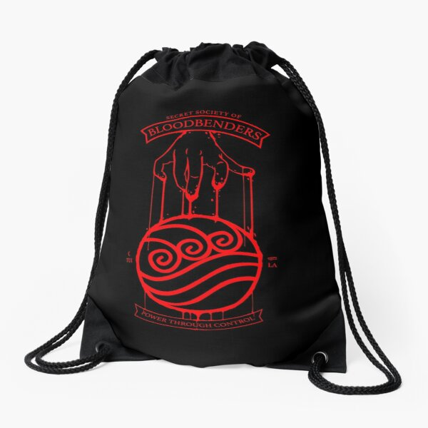 Bloodbender Secret Society Avatar-Inspired Design Drawstring Bag