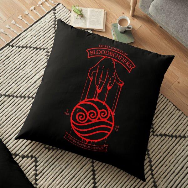 Bloodbender Secret Society Avatar-Inspired Design Floor Pillow