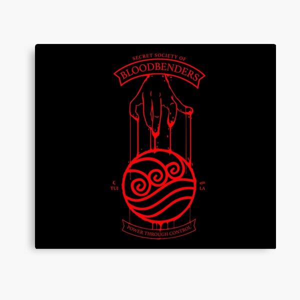 Bloodbender Secret Society Avatar-Inspired Design Canvas Print