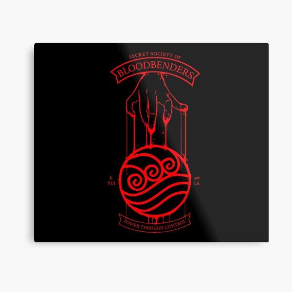 Bloodbender Secret Society Avatar-Inspired Design Metal Print