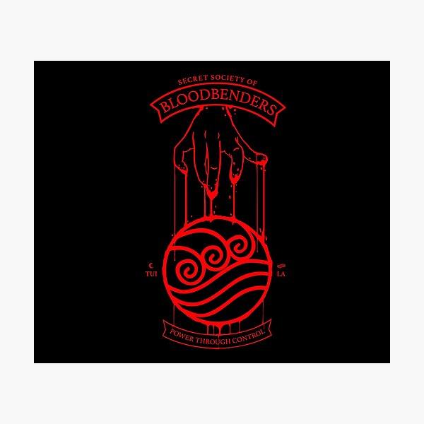 Bloodbender Secret Society Avatar-Inspired Design Photographic Print