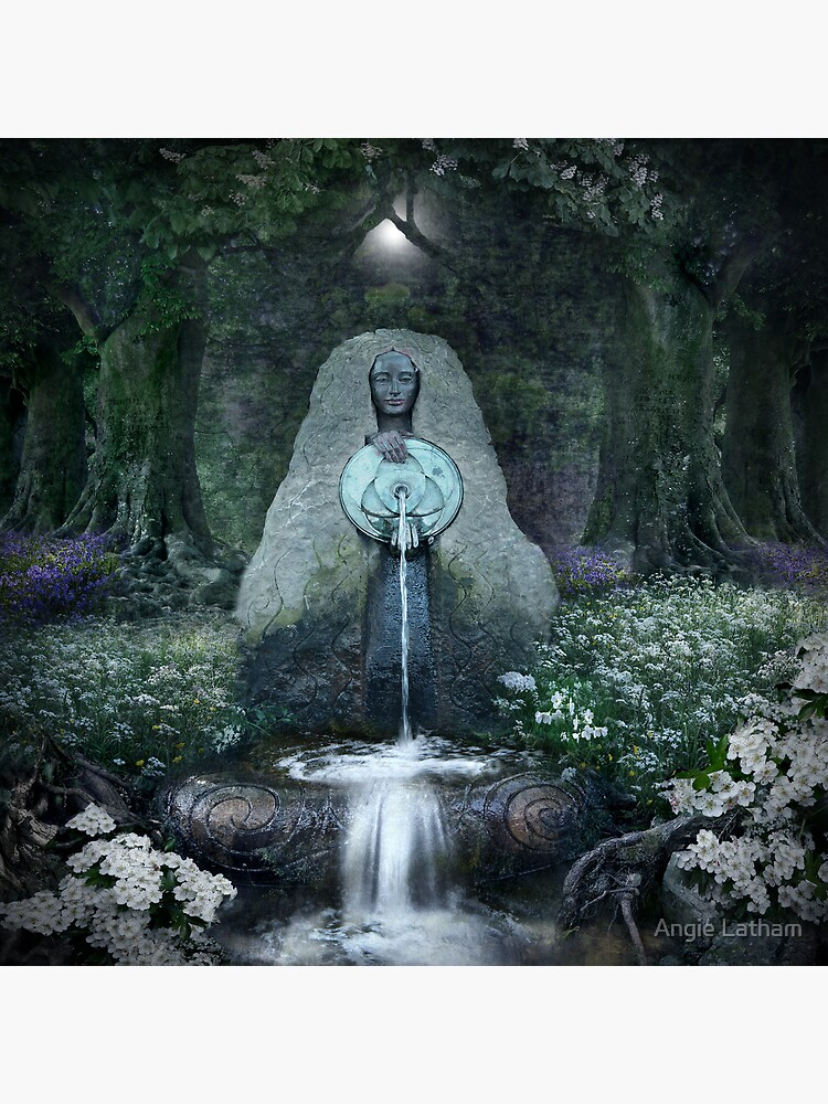 Beltane: Lady of the Sacred Well  by AngelaBarnett