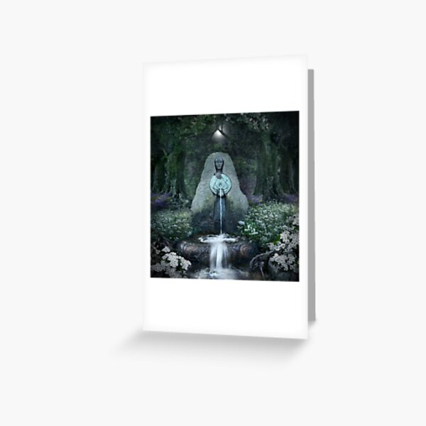 Beltane: Lady of the Sacred Well  Greeting Card
