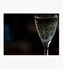Celebratory Drink For You Photographic Print