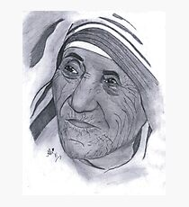 Mother Teresa and Mother's Day Photographic Print