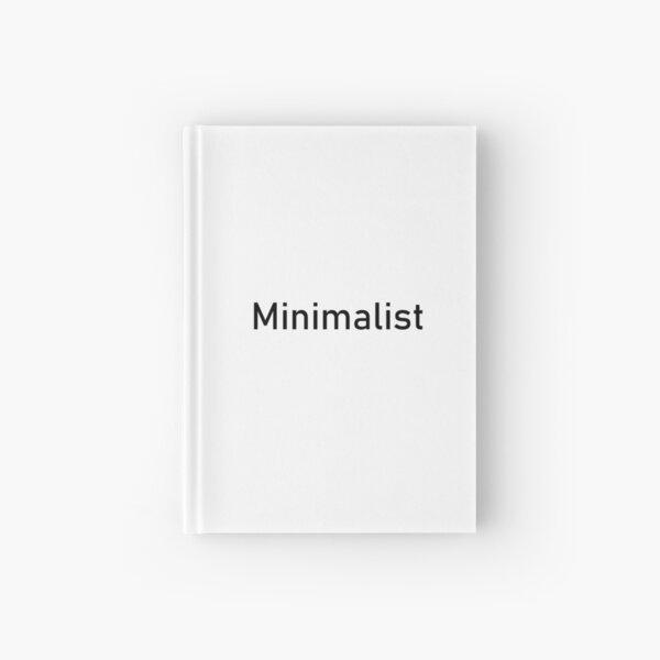 Minimalist Hardcover Journal