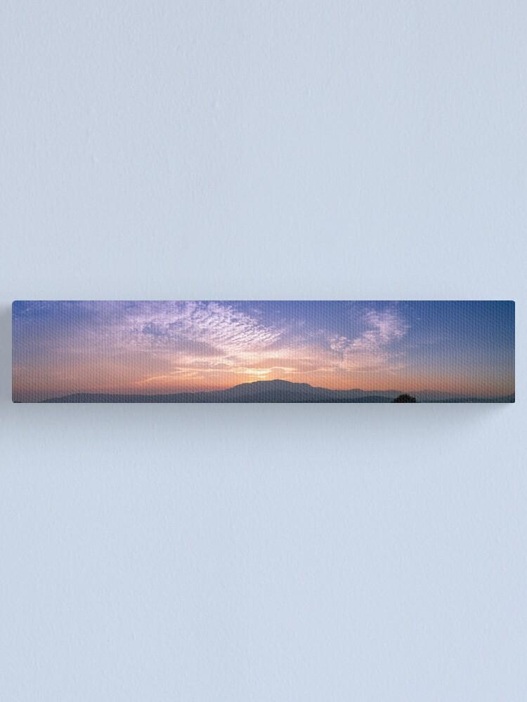 Alternate view of Hobart Sunset Canvas Print