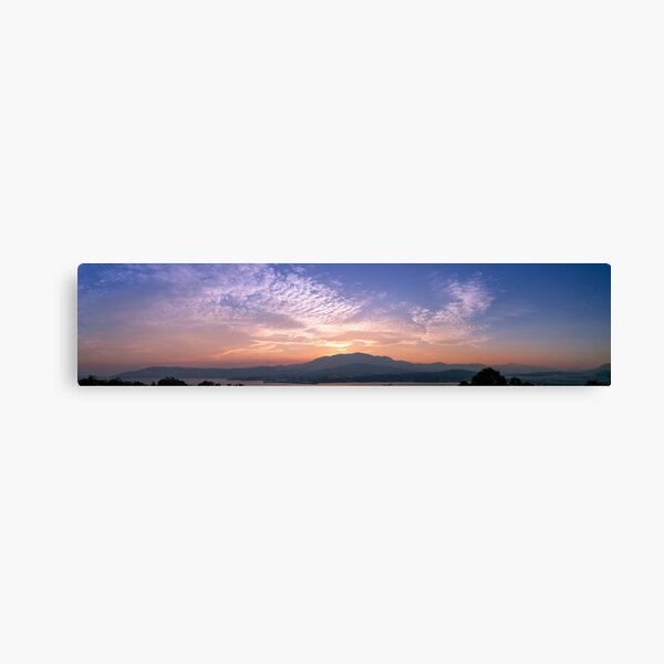 Hobart Sunset Canvas Print