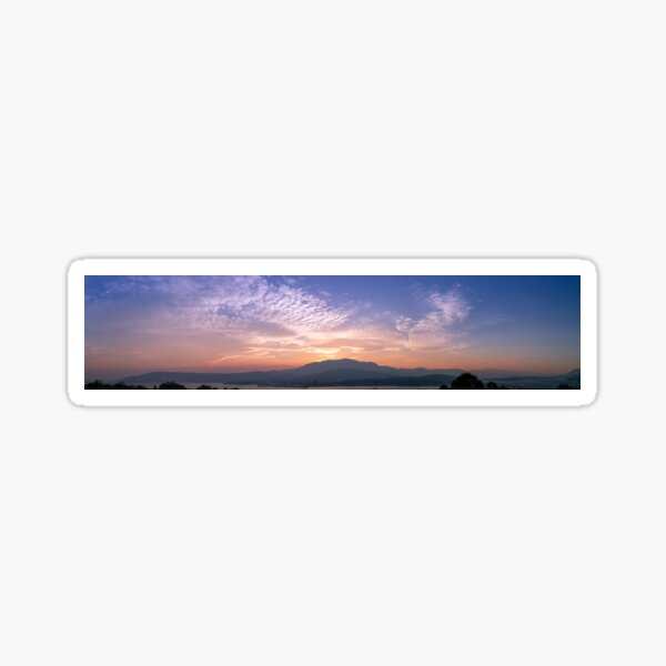 Hobart Sunset Sticker