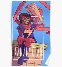 Kamala Khan  Poster