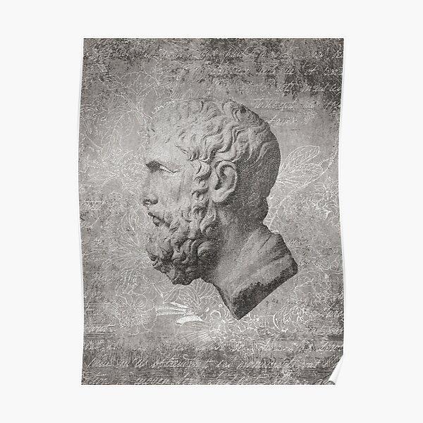 ANCIENT / Head of Epikouros Poster