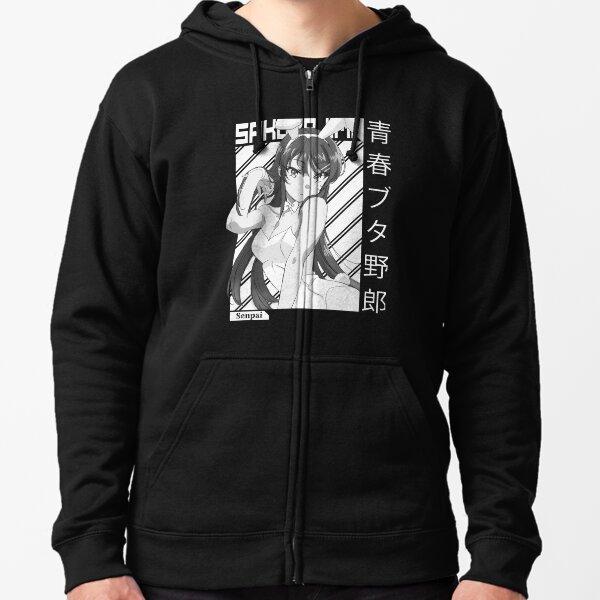 Mai Sakurajima [AoButa] Zipped Hoodie