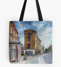 """""""Book In & Out"""" - Taunton, Somerset Tote Bag"""