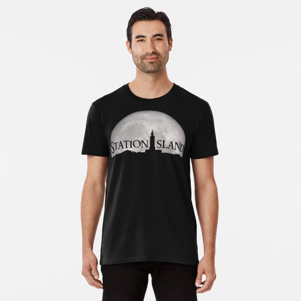 Station Island - Moon Design Premium T-Shirt