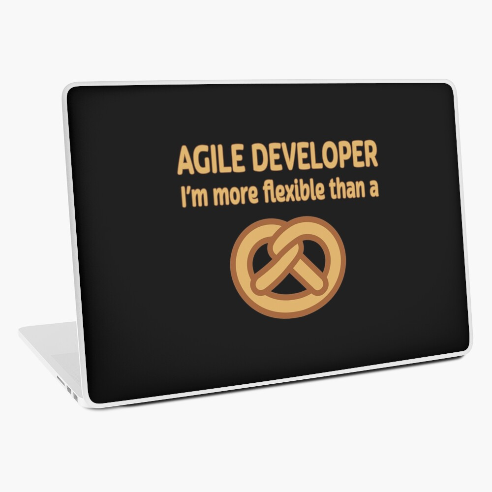 Agile Developer. Laptop Skin
