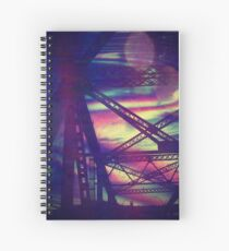 bridgeglitch Spiral Notebook