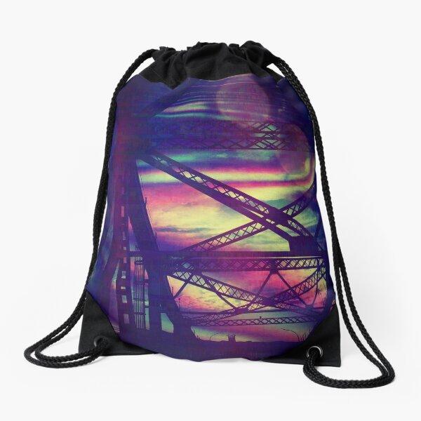 bridgeglitch Drawstring Bag