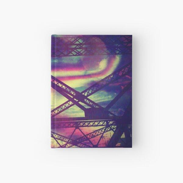 bridgeglitch Hardcover Journal