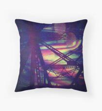 bridgeglitch Floor Pillow