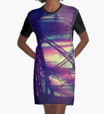 bridgeglitch Graphic T-Shirt Dress