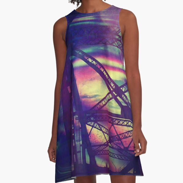 bridgeglitch A-Line Dress