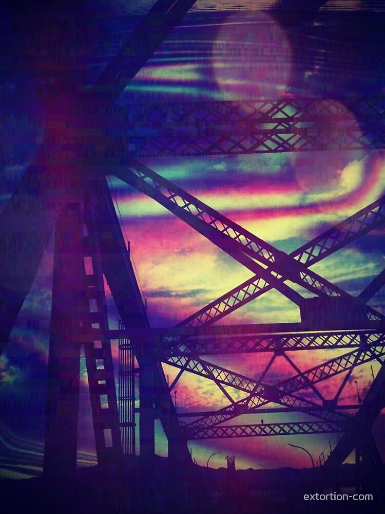 bridgeglitch by extortion-com