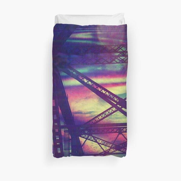 bridgeglitch Duvet Cover