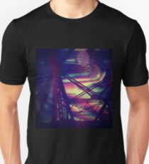 bridgeglitch Slim Fit T-Shirt