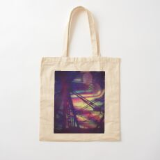 bridgeglitch Cotton Tote Bag
