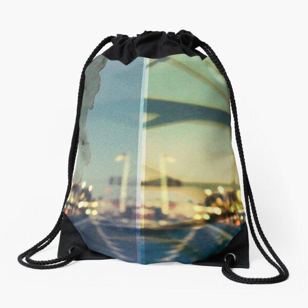 worldline divide Drawstring Bag