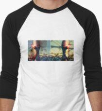 worldline divide Baseball ¾ Sleeve T-Shirt