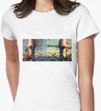 worldline divide Fitted T-Shirt