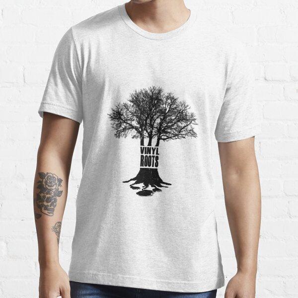 Vinyl Roots Black Essential T-Shirt