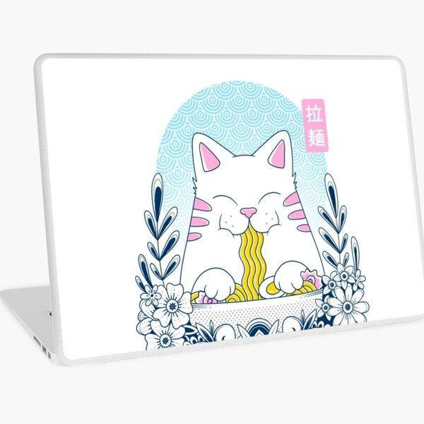 Ramen Cat Laptop Skin