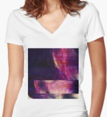 cybersplit Fitted V-Neck T-Shirt