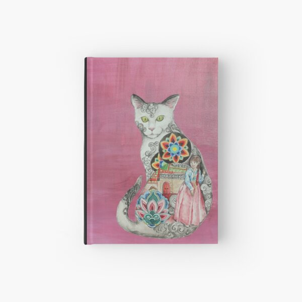 Land of the Morning Calm Cat Hardcover Journal