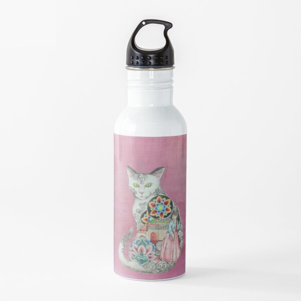 Land of the Morning Calm Cat Water Bottle