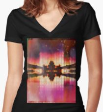 paradise Fitted V-Neck T-Shirt