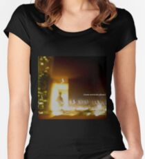 more serotonin please Fitted Scoop T-Shirt