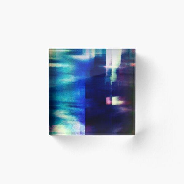 let's hear it for the vague blur Acrylic Block