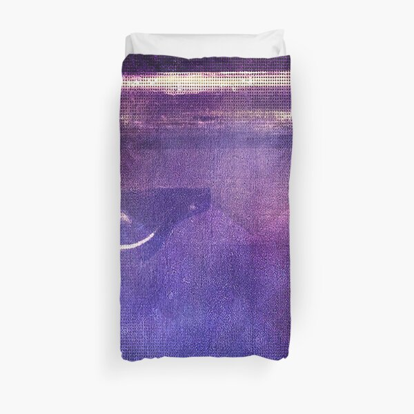 travel by monorail Duvet Cover