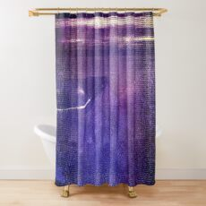 travel by monorail Shower Curtain